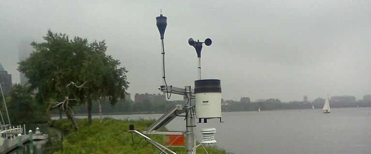 Charles River weather station