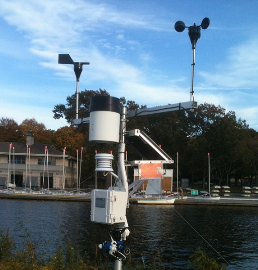 Community Boating weather station