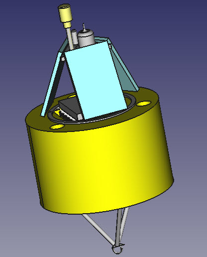 water quality monitoring buoy prototype