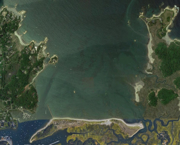 Cohasset Bay map