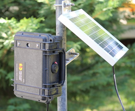 Envirocam time-lapse camera for monitoring environmental changes